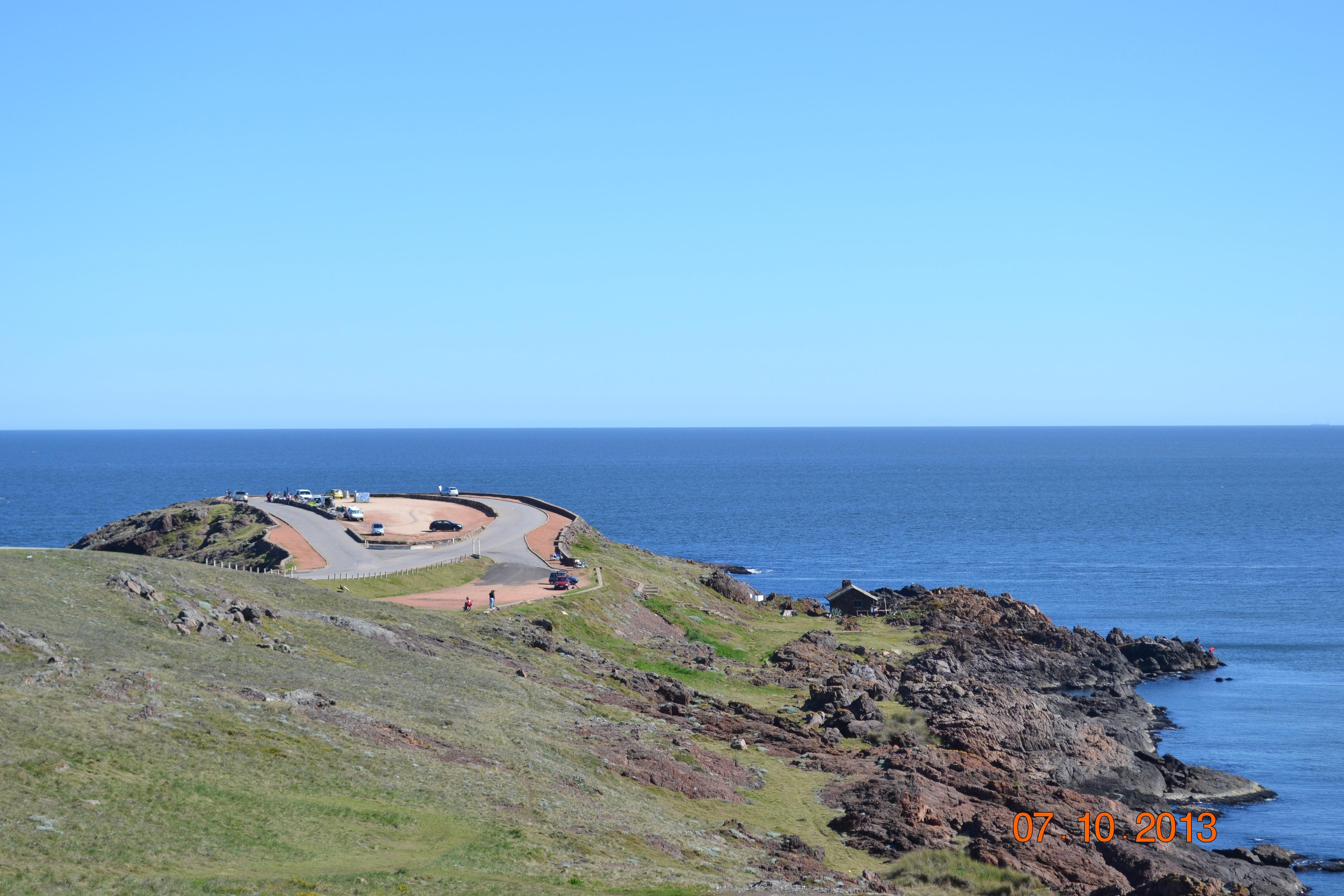 Punta Balena e local de observação de baleias